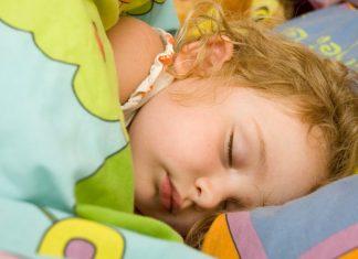 Barn som våkner på natten