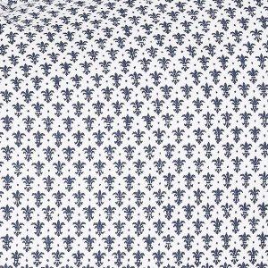 """MARIUS t-skjorte i mønster """"Krone"""" - mørk blå"""