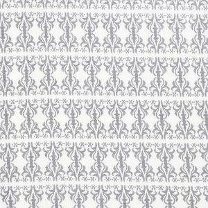 """ADA ammeinnlegg i mønster """"Etikette"""" - grå skifer 11x11"""