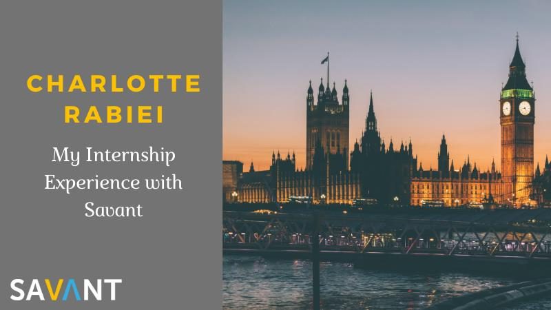 My Experience With Savant Recruitment - Charlotte Rabiei