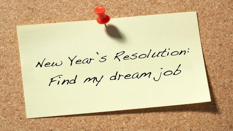 NEW YEAR - NEW JOB