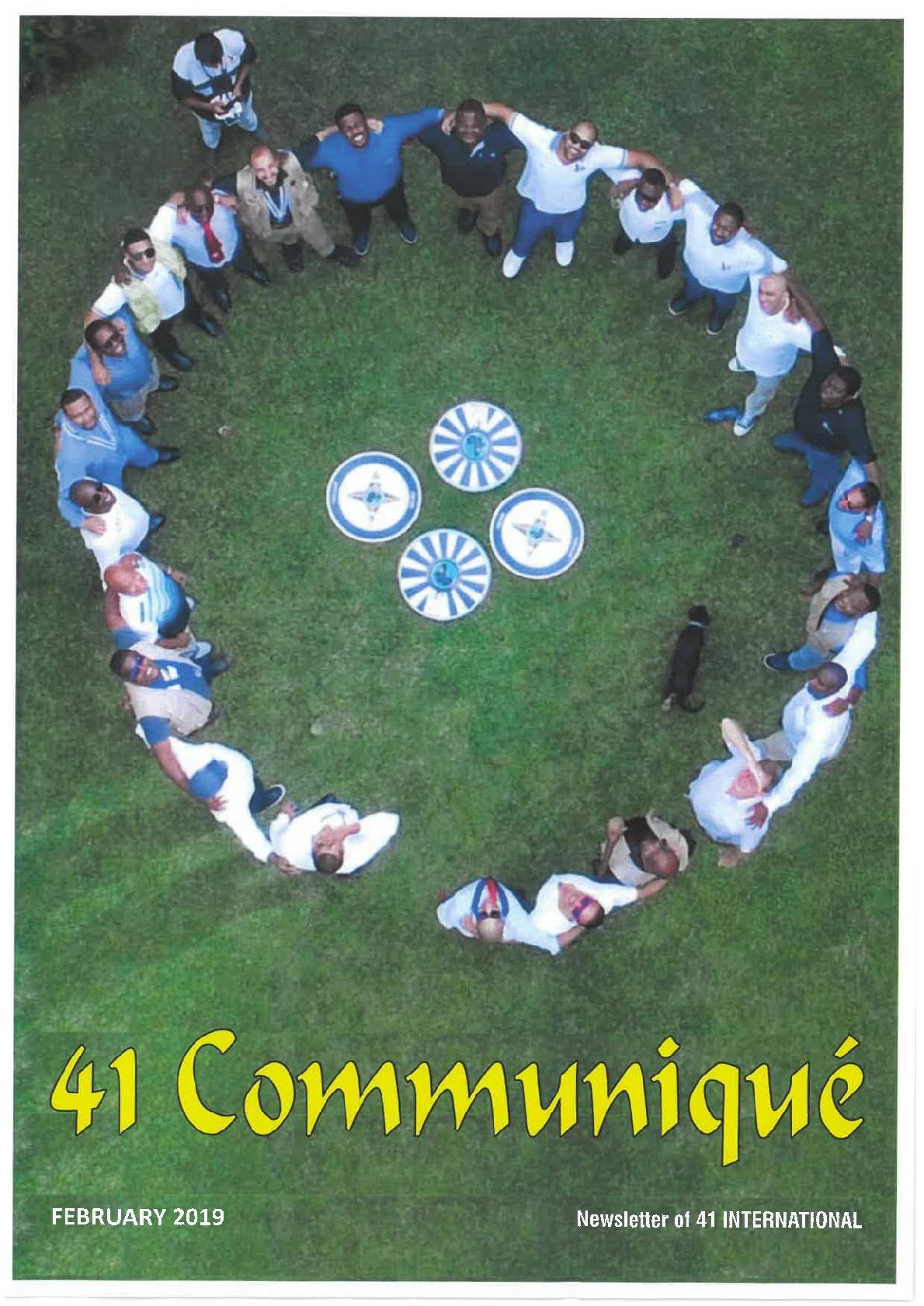 Communique 022019 001
