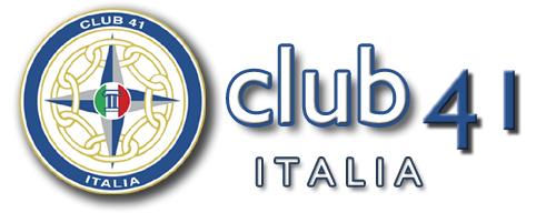 Convocazione dell'Assemblea straordinaria del Club 41 Italia