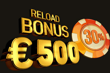 30% Weekly Reload Bonus