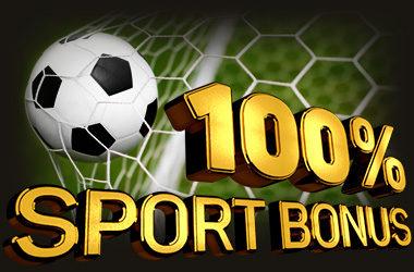 100% Bonus Powitalny na Sport