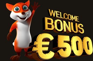 500 EUR 100% Welcome Bonus