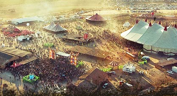 Regresa el Monegros Desert Festival de Fraga tras 6 años de silencio