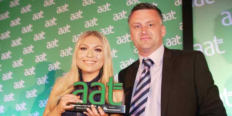Rebecca Elliott: AAT Apprentice of the Year 2019
