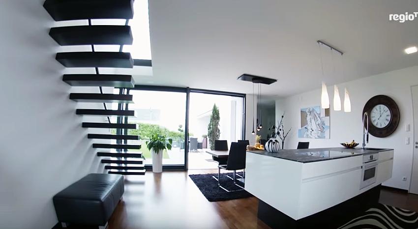 kragarmtreppe die treppe als designobjekt. Black Bedroom Furniture Sets. Home Design Ideas