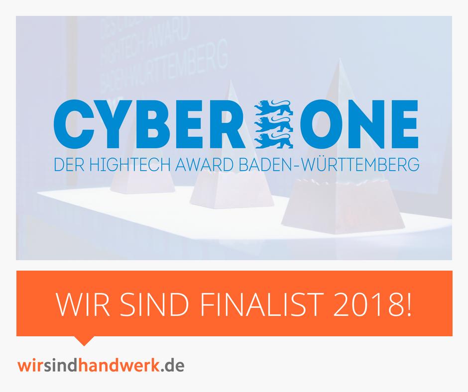 wirsindhandwerk.de, cyberone, award, gewinner, hightech, handwerker