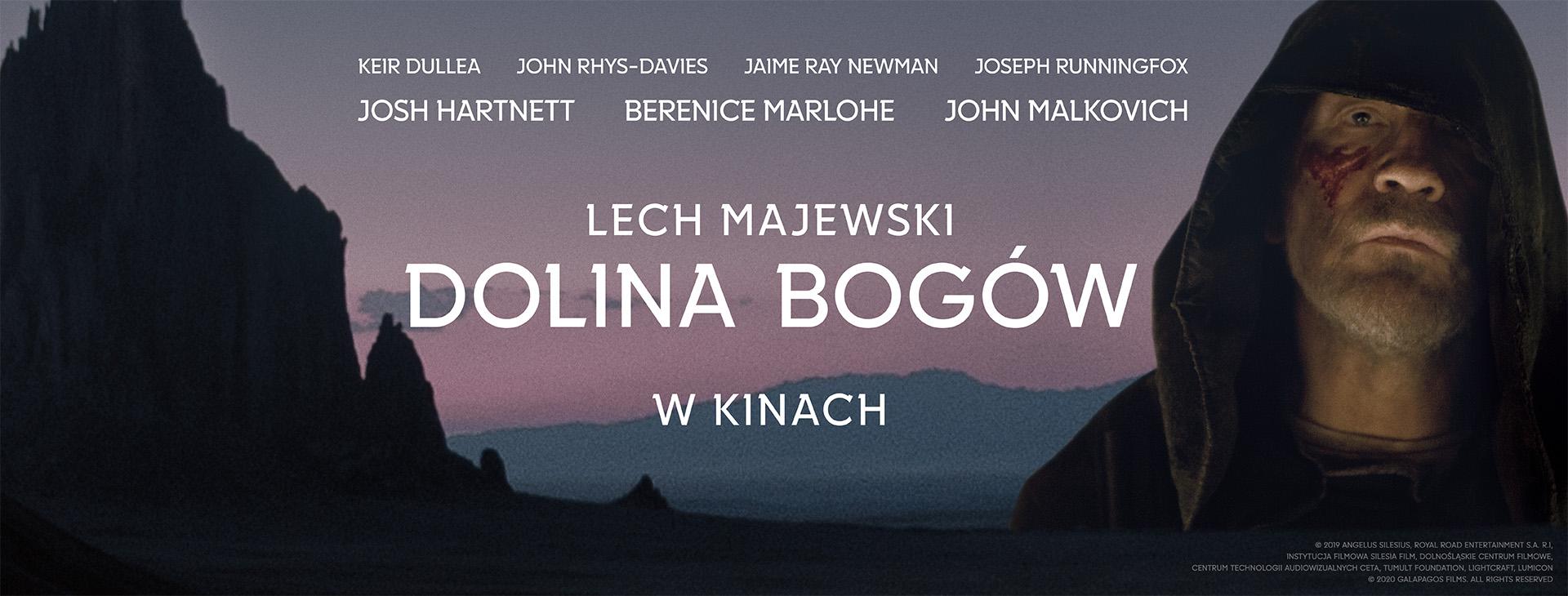 Dolina Bogów | reż. Lech Majewski; z rolą Johna Malkovicha