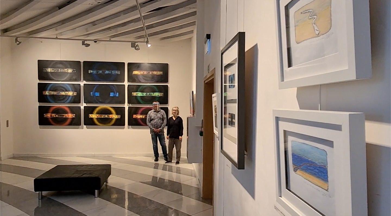 """Oprowadzanie online po wystawie """"Smart Canvas"""""""