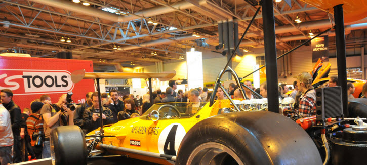 Birmingham NEC car exhibition