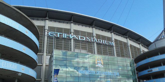 Eithad stadium, Manchester