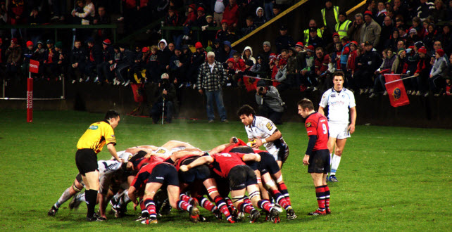 Rugby at the Millennium Stadium
