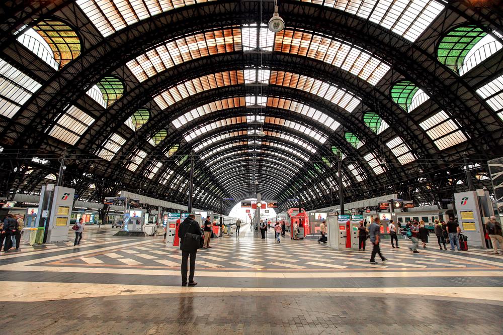 Milano Centrale train station
