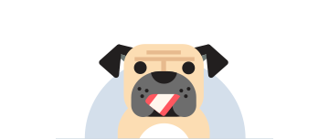 Dog won't eat your train ticket.