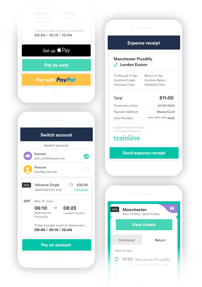 Trainline hasslefree app