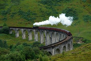 Train films