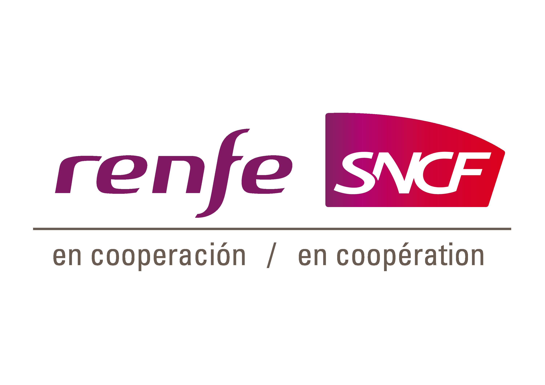logo Renfe-SNCF en coopération