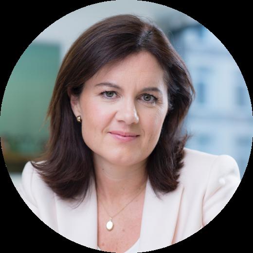 Clare Gilmartin. CEO of Trainline