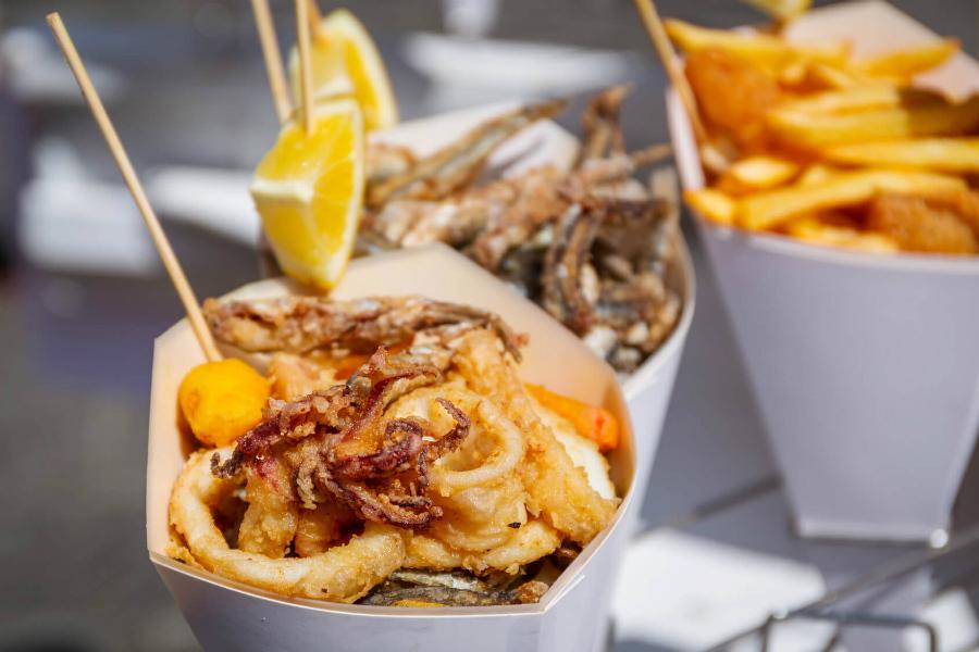 specialità tipiche street food