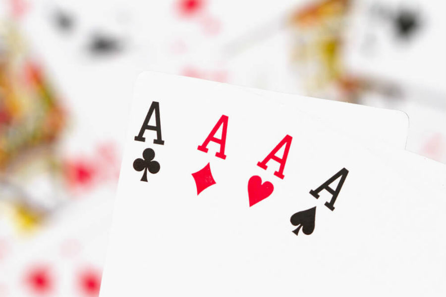 carte da gioco assi