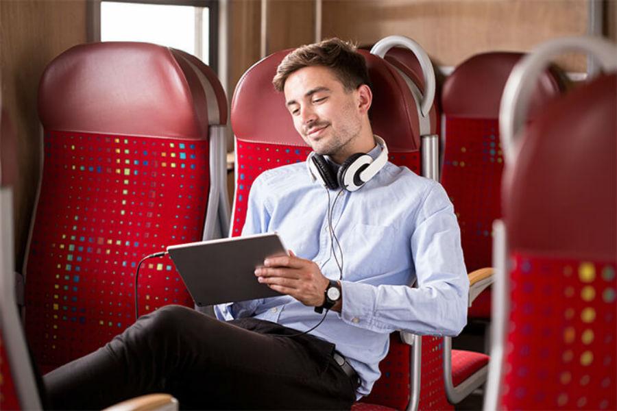 tablet sul treno