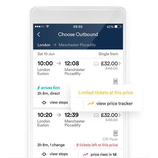 Cheap Train Tickets from Trainline | Find out how to save up