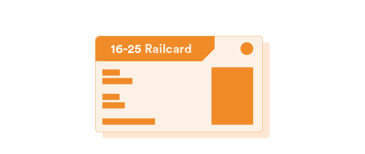 16 to 25 Railcard