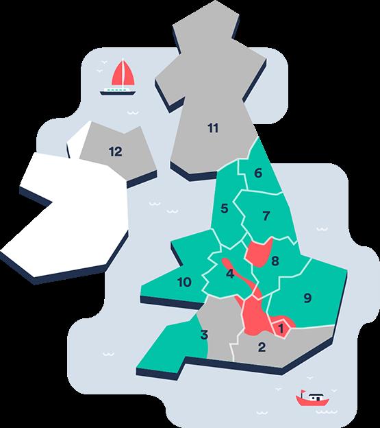 UK Trains Mobile Tickets Map - Dec 2017