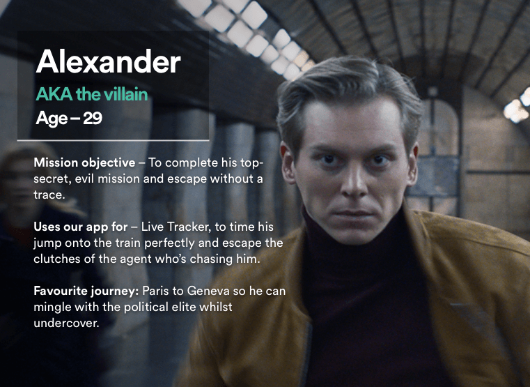 Trainline The Getaway Alexander