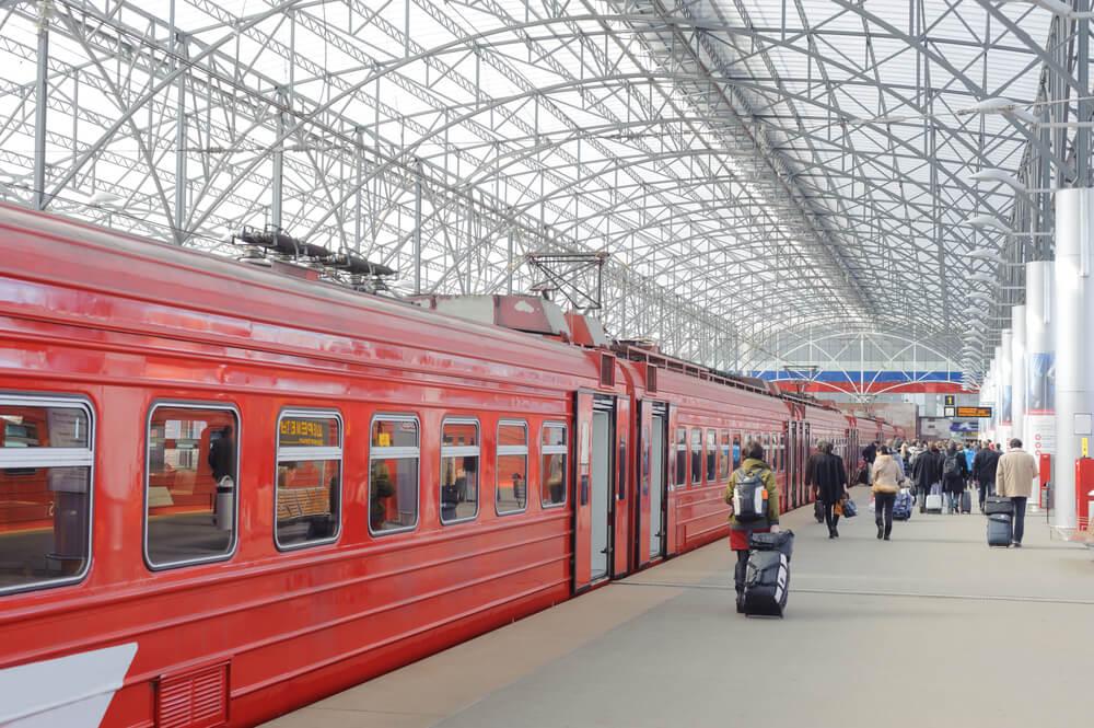 Train en Russie