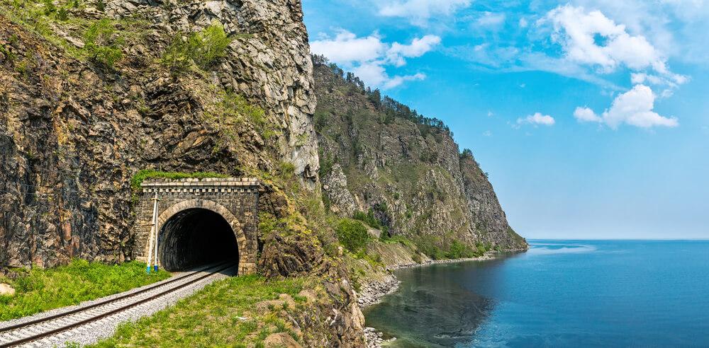 Lac Baikal en Sibérie