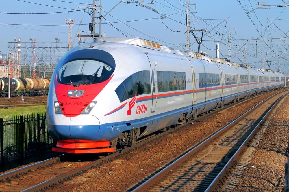 Train russe Sapsan