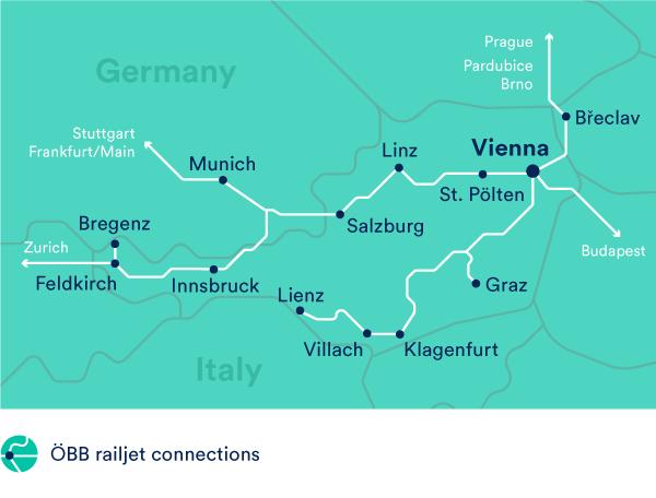 öbb Trains In Austria Austrian Railways Trainline