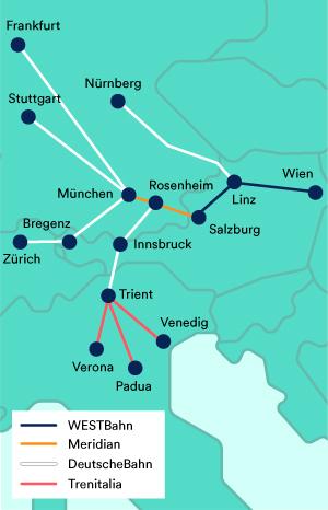 Westbahn Fahrplan Tickets Kaufen Trainline
