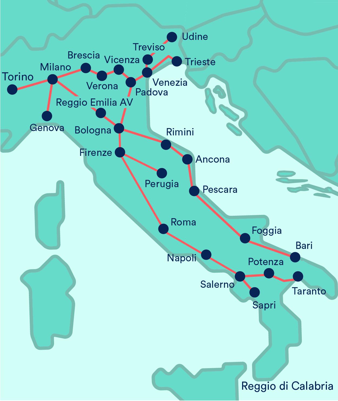 Frecciarossa: orari treni, biglietti in offerta | Trainline