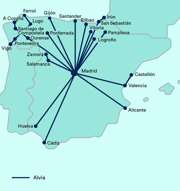 Alvia Madrid