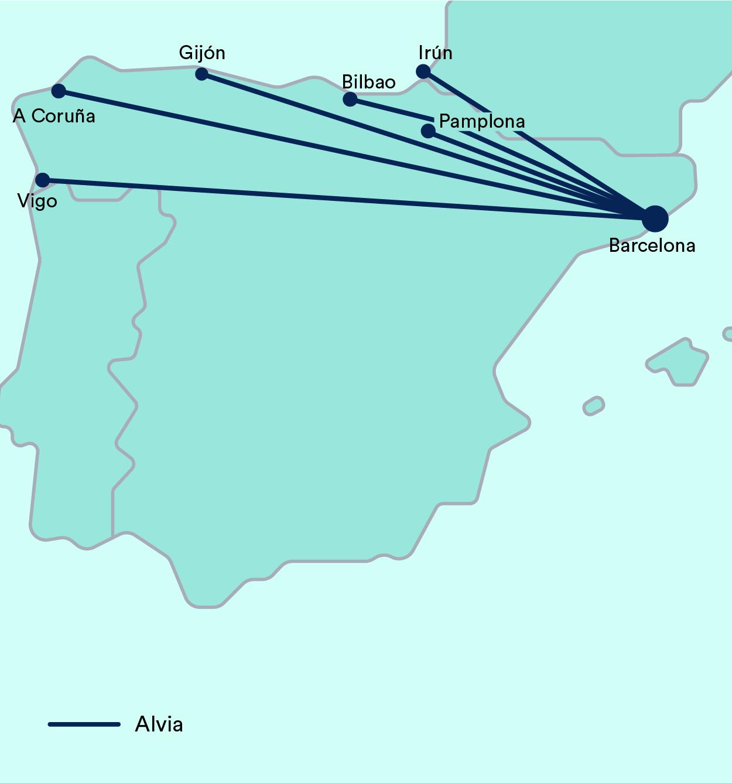 Alvia Barcelona