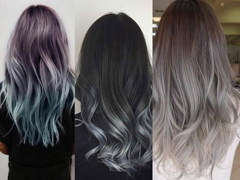 Trend capelli  Grey Ombré Hair e0087d5bd5e5