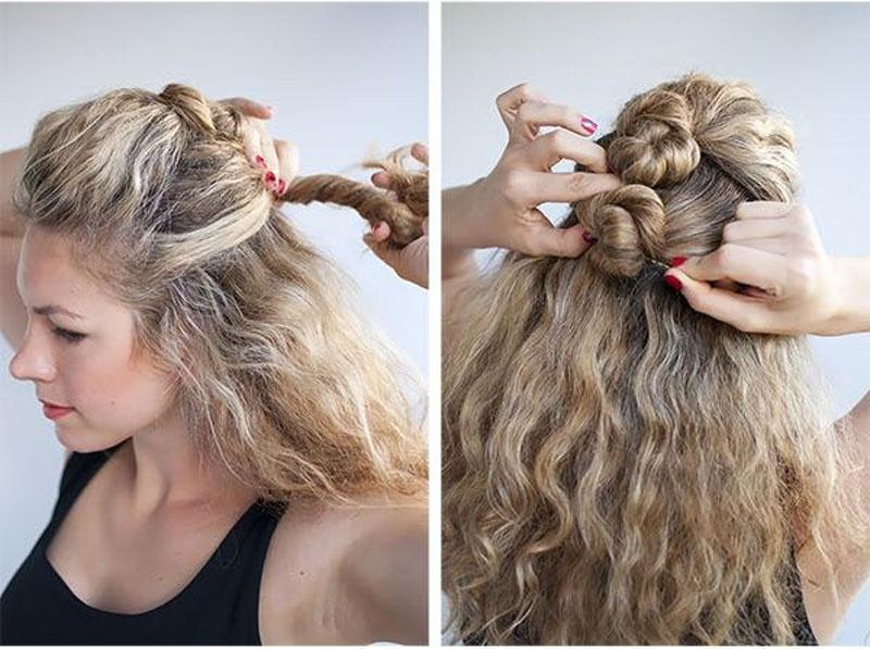 Conosciuto Le imperdibili acconciature per capelli ricci facili e veloci! JX03