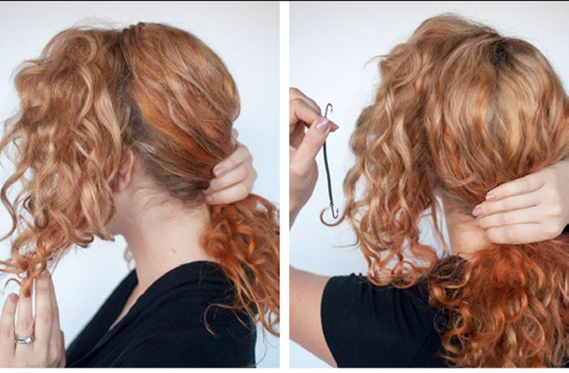 Favoloso Le imperdibili acconciature per capelli ricci facili e veloci! FC26