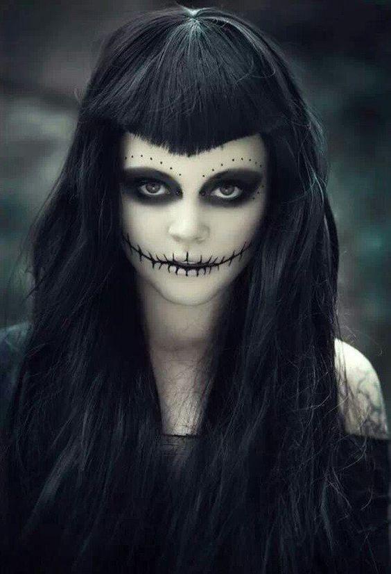 Trucco sexy per Halloween  idee facili 519251e57b3e