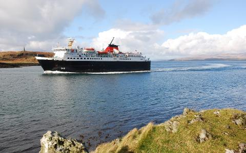 Ferry rides from Northern Ireland to Scotland increase