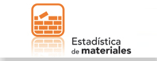 Estadística de materiales