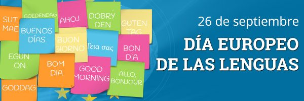European Day of Languages. 26th September