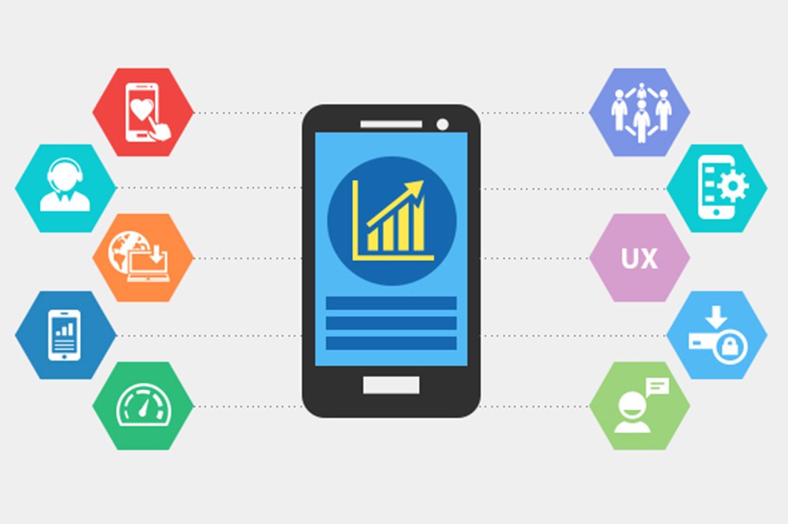 Mobile app elements