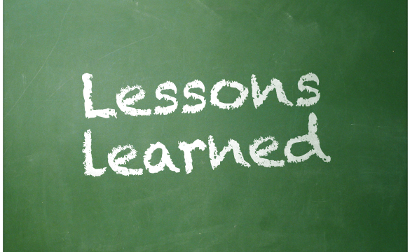 the lessons learned from failures in writing The purpose of lessons learned is to bring together any lessons learned during a project that can be some of the most important lessons we learn come from failures.