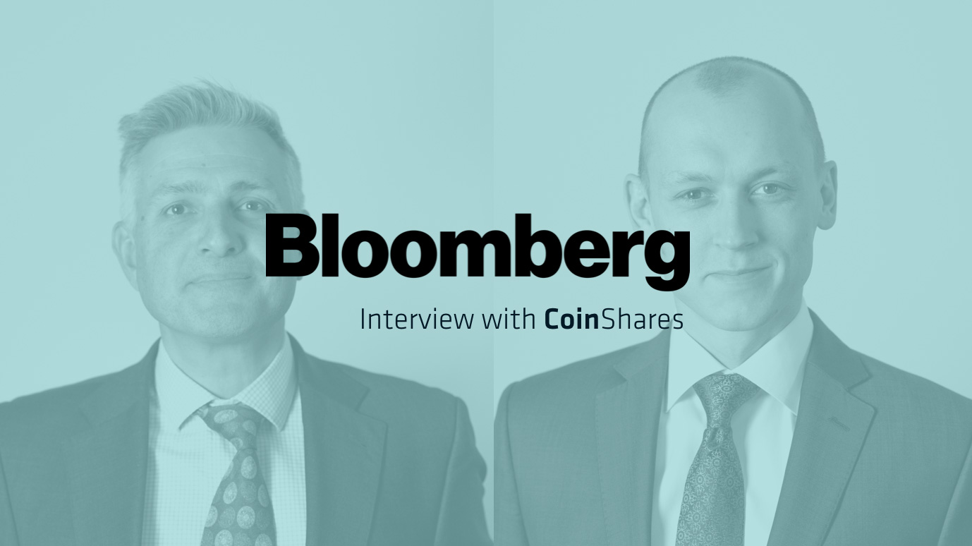 Ethereum 101 For Investors – Excerpt from Bloomberg Q&A